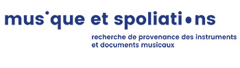 Musique et Spoliations / looted music